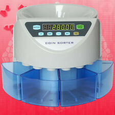Electronic coin sorter SE-900 coin counting machine for most of countries