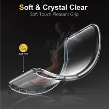 Transparent Skin Clear Soft Rubber TPU Ultra Thin Phone Case Cover For iPhone XR