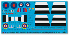 Peddinghaus 2173 1/48 Spitfire Pilot Piere Clostermann 1944