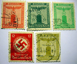 THIRD REICH  PARTY  OFFICIAL     STAMPS   ,      --