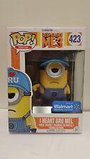 Funko POP! Movies: Despicable Me 3-Walmart Exclusive I Heart Gru Minion Mel #423