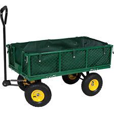 Transportkarre Bollerwagen Handwagen Transportwagen Gerätewagen Garten XXL grün