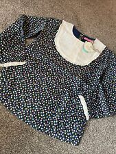 Little Bird By Jools Oliver Vintage Style Floral Bib Blouse 7-8 Years