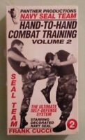 panther navy seal team HAND TO HAND COMBAT TRAINING volume 2  VHS VIDEOTAPE