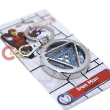 Marvel Iron Man 3 Arc Reactor Key Cahin Colored Pewter Key Holder Glow Dark