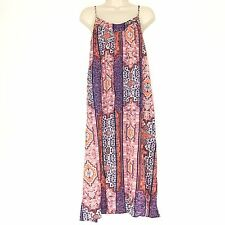 NWT Lucky Brand BOHO Gypsy Batik Tapestry Print Midi Sundress Size XS MSRP $99
