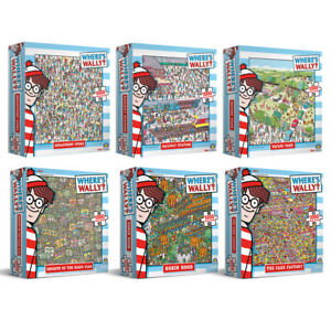 1000pc Where's Wally Jigsaw Puzzle Kids/Children Educational Toy Child 8y+