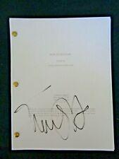 Back to the Future Movie Script Film Screenplay Michael J Fox Zemeckis 4th Draft
