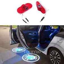 2 x LED Car Door Courtesy Light Laser Logo Projector For SKODA Octavia 2004-2008