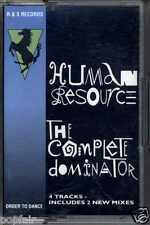 HUMAN RESOURCE - THE COMPLETE DOMINATOR / REMIXES 1991 UK CASSINGLE CJ BOLLAND