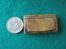 Vintage small snuff box possibly celluloid
