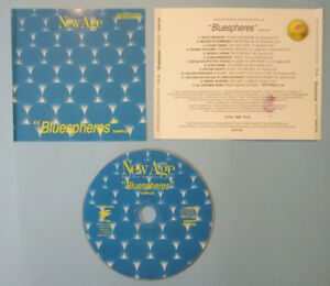 CD Compilation BLUESPHERES New Sounds Multimedia Mark Almond New Age no lp PROMO