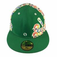 New Era Chicago White Sox 59Fifty Mens Green Fitted Hat Size 7 5/8 Baseball Cap