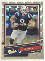 """2020 Donruss Jacob Eason """"The Rookies"""" SP Silver Holo Insert RC MINT INVEST!🔥"""