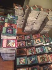 1000 Yu-gi-oh! YUGIOH Card Lot Collection Common Rare Super Ultra Secret