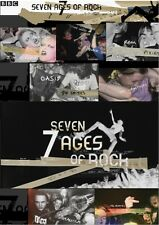 SEVEN AGES OF ROCK BBC DOCUMENTARY 7+ HRS 4DVDs hendrix bowie sex pistols oasis