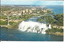 Postcard - Niagara Falls - Aerial view (1977)