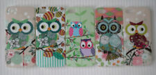 Owl Glossy Silicone/Gel/Rubber Mobile Phone Cases/Covers
