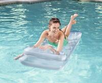 Bestway Metal tech 74x28inch Lilo Beach Lounger Pool Mat Float Ride-On Swimming