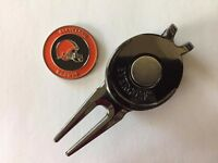 NFL Cleveland Browns Golf Ball Marker and Magnetic Divot Tool