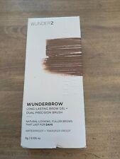 WUNDER2 - WUNDERBROW Long Lasting Brow Gel + Dual Precision Brush - Brand New