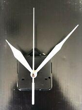 Clock Movement - White Quartz Sweeping Hands - AA Battery Powered - Mechanism UK