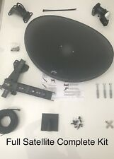 📦SPECIAL DIY SKY HD MK4 DISH & QUAD LNB & 10M TWIN CABLE COMPLETE KIT📦
