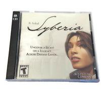 Syberia PC 2 CD-ROM Game 2002 B Sokal The Adventure Company