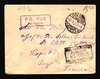 Germany 1917 POW Cover / DRESDEN CDS - Z14439