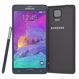 Original Samsung Galaxy Note 4 SM-N910A 32GB 4G T-Mobile AT&T UNLOCKED CellPhone