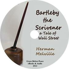 Bartleby, the Scrivener, Herman Melville Wall Street Audiobook on 1 MP3 CD