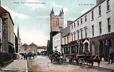 Portarlington. French Church Street in U.S. Series # 145/3. Horse & Cart.