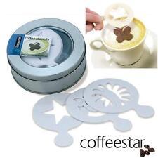 16 X Aerolatte Pochoirs Café pour Caffè Latte Cappuccino Macchiato