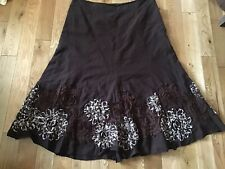 Ladies Gypsy Type Cotton Lined Skirt Size 20 Simon Jeffrey Branded Preowned