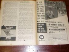 Feb-1972  HOCKEY  WORLD - The NHL Magazine-Black & White, VG-EX