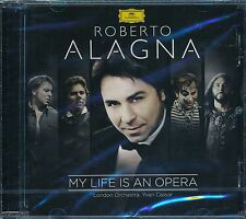 Roberto Alagna My Life Is An Opera CD NEW London Orchesta Yvan Cassar