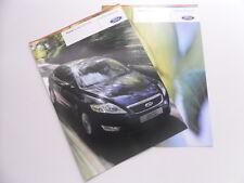 Der Ford Mondeo ECOnetic Prospekt + Preisliste + Flexifuel von 08.2008