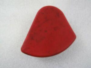 Ferrari California, LH Rear Seat Belt Cap Cover, Red, Used, 82313600
