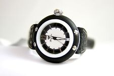 Authentic Glam Rock Women's Miss Miami Beach Watch GRD23008BB WHITE & BLACK NEW!