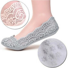 Cotton Lace Socks Antiskid Invisible  Liner Socks Low Cut Socks Boat GW