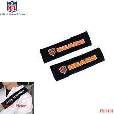 New NFL Chicago Bears Car Truck Suv Van Seat Belt Shoulder Pads Covers