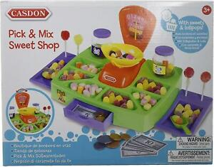 Kids Toy Pick And Mix Sweet Shop With Display Counter Working Scales
