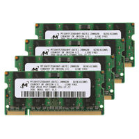 8GB (4X2GB) PC2-5300S SoDIMM DDR2 667Mhz 200pin IBM Lenovo HP Dell Laptop Memory