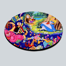Alice in wonderland coaster tea coffee home fun novelty gift disney