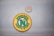 "Minnesota North Stars 2"" Patch 1985-1991 Primary Logo & Script Hockey"