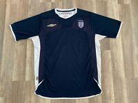 Vintage Umbro England Beckham Soccer Team Jersey L