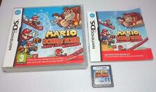 Mario vs. Donkey Kong: Mini-Land Mayhem [Nintendo DS/Lite/DSi/XL Game] GENUINE