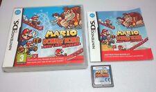 Mario VS. Donkey Kong: MINI-Land Mayhem [Nintendo DS/Lite/DSi/XL GIOCO] Genuine