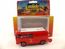 Solido 2107 Berliet Camiva Ville de Paris 1/50 neuf mint boxed/en boîte