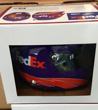 Denny Hamlin #11 2017 Fed Ex  mini size collectible helmet